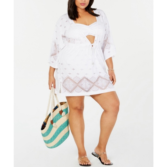 63f46fd9be Dotti Swim | New Plus Size Kimono Coverup 2x | Poshmark